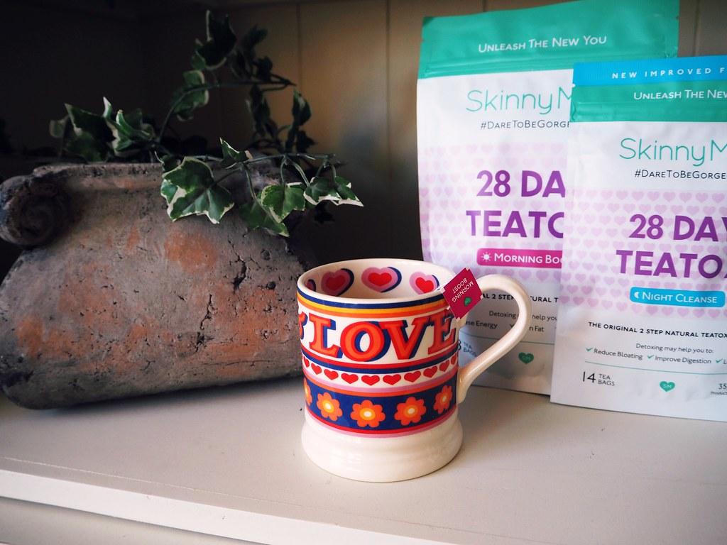 SkinnyMint detox tea review