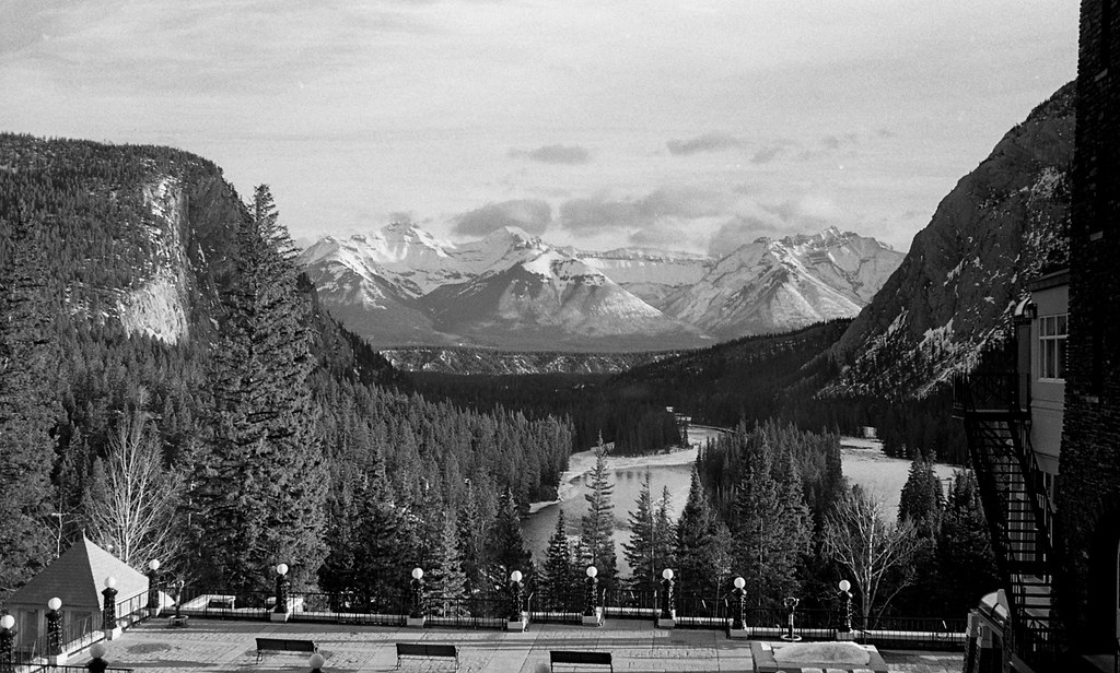 View from Banff Springs hotel