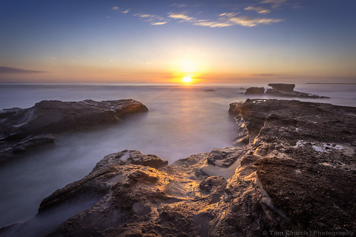 new travel light sun seascape travelling beach church wales sunrise canon reflections landscape photography south australia follow traveller explore caves nsw newsouthwales cave rise tam followers cavesbeach tamchurch