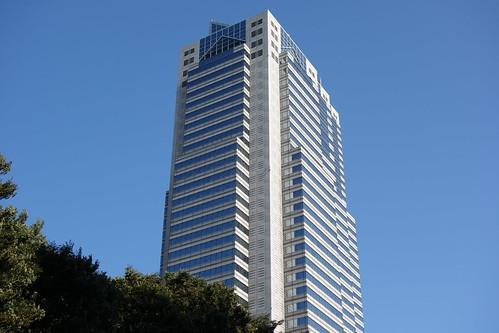 """Shinjuku_14 """"新宿パークタワー"""" の写真。 北西からの撮影。"""