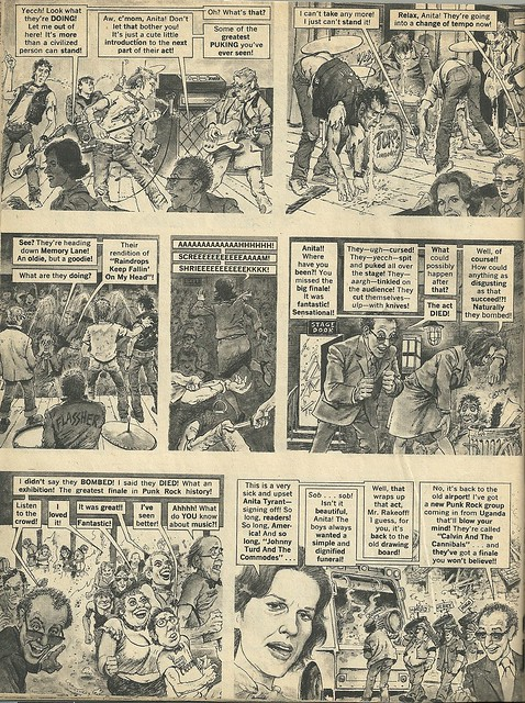 Punk Rock Group Of The Year (Mad Magazine - June 1978) 4/4