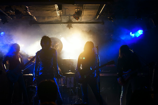 Earlysnake live at Outbreak, Tokyo, 17 Jan 2015. 334