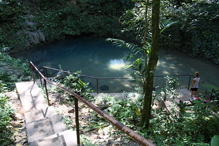 The Blue Hole.  Belize.