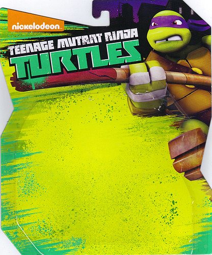 Nickelodeon   TEENAGE MUTANT NINJA TURTLES :: MYSTIC DON ..card backer i  (( 2014 ))