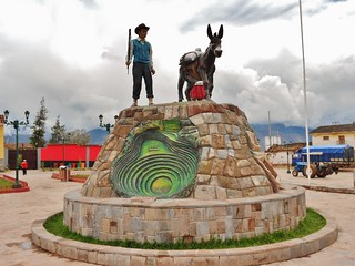 Tiobamba Town Monument - Moray