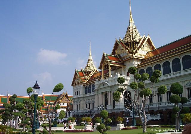 Королевский дворец Тайланд