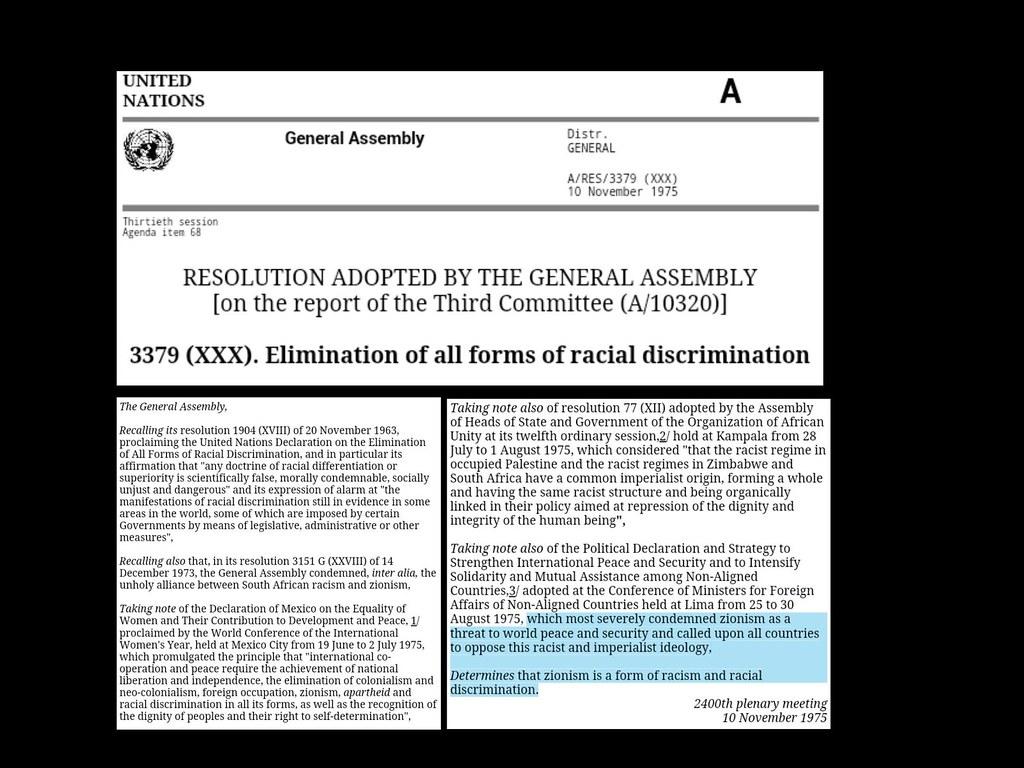 Zion declaration