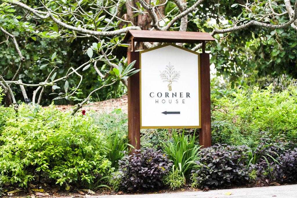 Corner House Signage