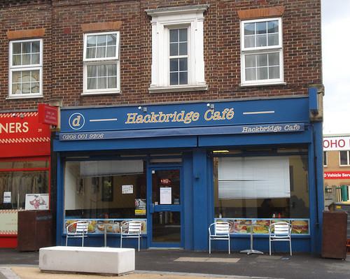 Hackbridge Cafe, Hackbridge, London SM6