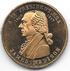Numismatic Scrapbook Contributor's Medal Pres. #4 001