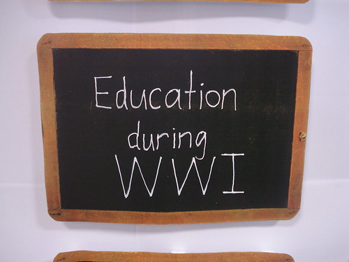 Education in NZ during WWI.