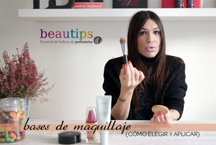 beautips barbara crespo bases de maquillaje elección y aplicación beautips.com fashion blogger blog de moda