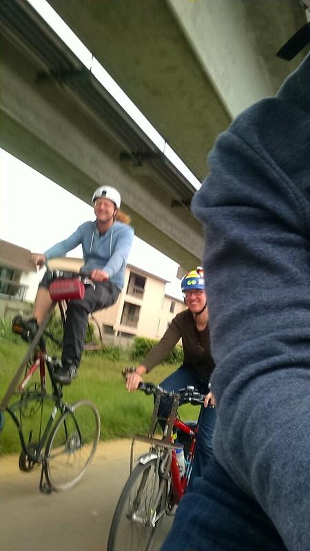 Tallbike Selfie 1
