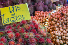 Tropical Fruits Market in Chanthaburi.
