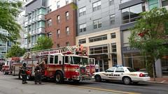 Fire Trucks at VCU