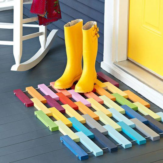 Easy-To-Make Floor Mats That Will Grab Your Attention