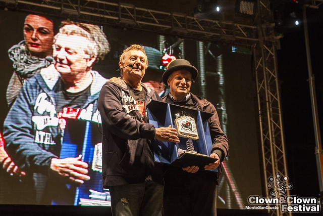 Don Luigi Ciotti - Clown nel Cuore 2015