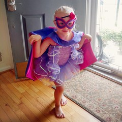 Ballerina Superhero cleared for takeoff. #age4israd