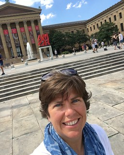 Image of Rocky Steps. travel art philadelphia museum rocky roadtrip adventure phish philly roadtrippin rockysteps headcount registertovote phishtour2016 phishtouringteam teamgonephishingforvoters