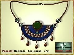 Bliensen - Pendola - Necklace Lapislazuli