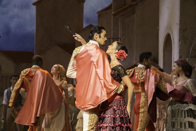 Ryoichi Hirano and Laura Morera in Don Quixote, The Royal Ballet © ROH/Johan Persson, 2013