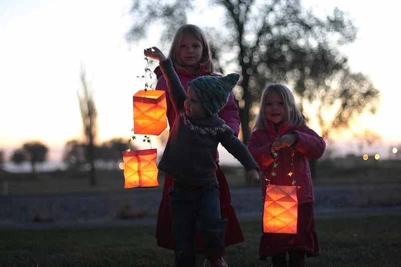 Martinmas lantern walk 2014