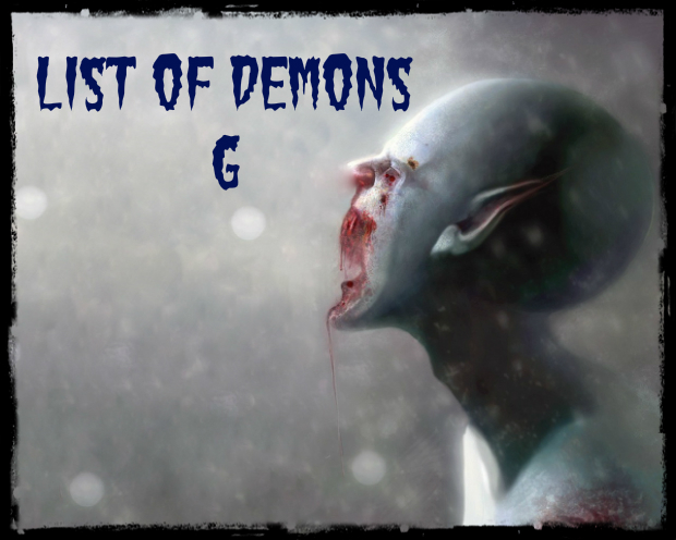 List of Demons G
