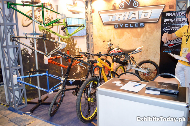 Triad Cycles Exhibit Booth