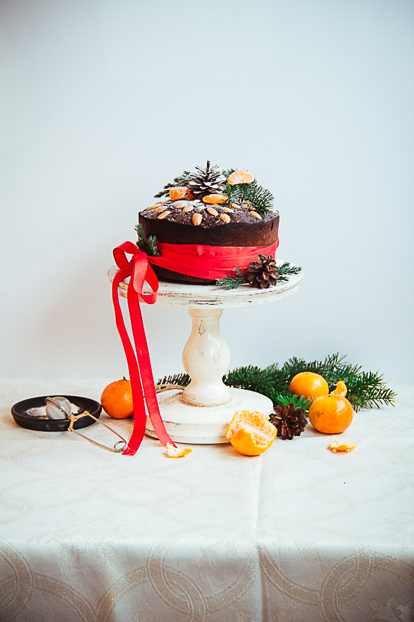 Christmas Drunken Fruit Cake