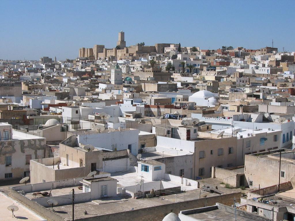 View of Sousse, Tunisia