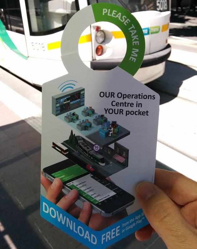 Tram Tracker promotion