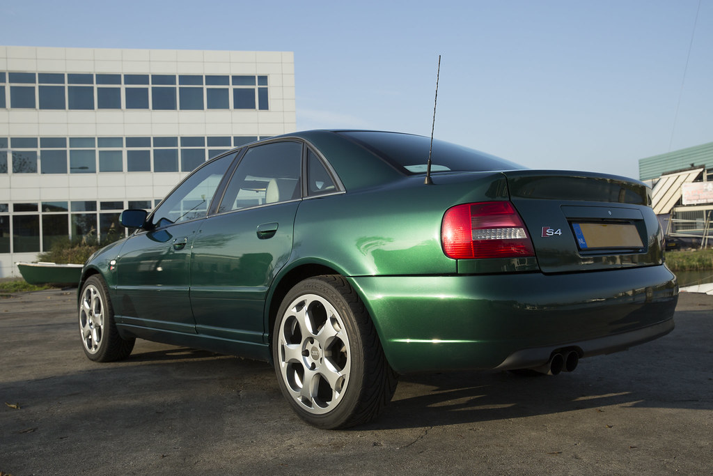 How Much To Replace Transmission >> JJ's Cactus Green Audi S4 B5