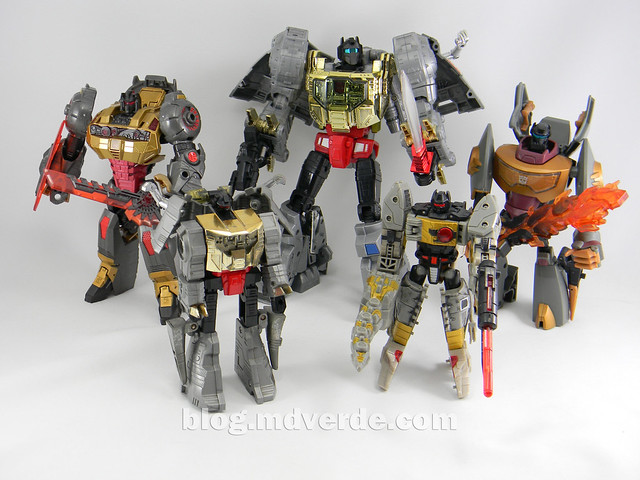 Transformers Grimlock Voyager - Transformers Generations Fall of Cybertron - modo robot vs otros Grimlock
