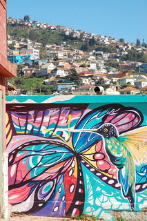 Murals and Graffiti in Valparaíso, Chile