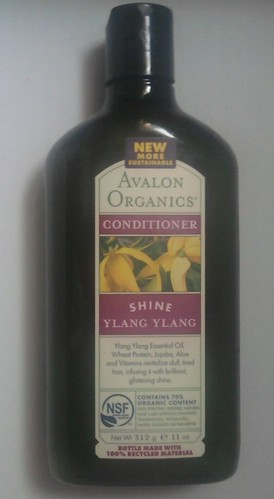 Avalon Organics Ylang Ylang Conditioner Review