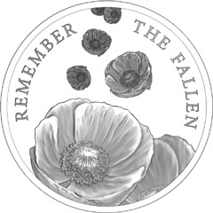 Remember the Fallen poppy coin