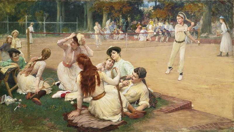 Frederick Arthur Bridgman - Lawn Tennis Club (1891)