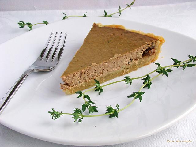 тарт с печенью 2
