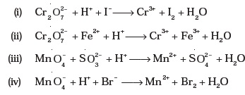 Class 11 Important Questions for Chemistry – Redox Reactions