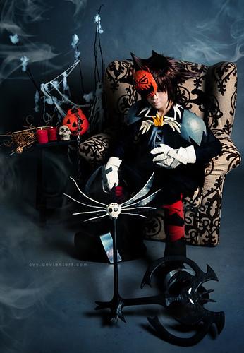 Cosplay - Halloween Town Sora; cosplayer - cvy; photographer - songster69