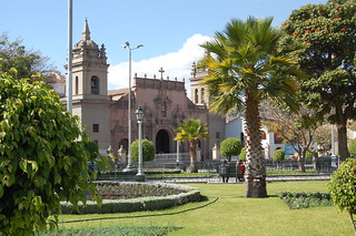 Cathedral on the Main Plaza, Huamanga, Ayacucho, Peru