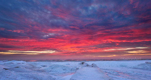 winter lake wisconsin sunrise nikon lakemichigan wintersunrise racine d90 racinewisconsin nikond90 shorelinesunrise