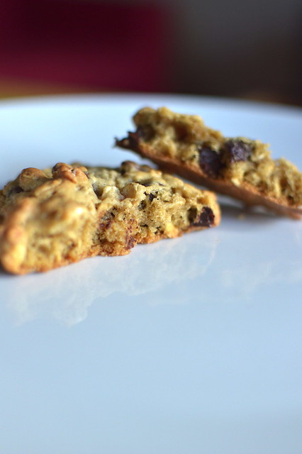 Oatmeal-Chocolate Chip Cookies (for Two!)