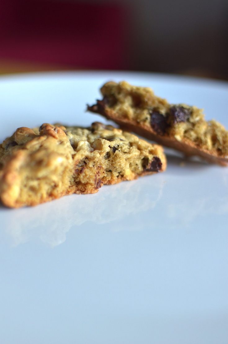 Oatmeal-Chocolate Chip Cookies (for Two!) | reghanskerry.com
