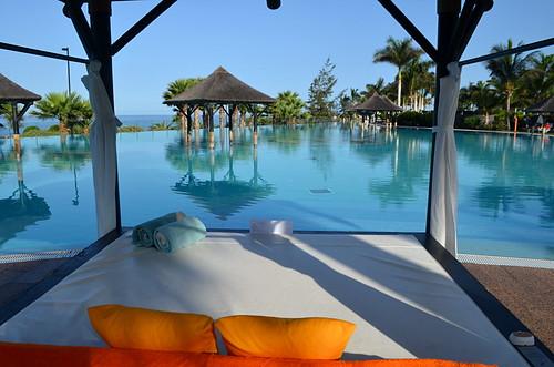 Swimming pool at Gran Melia Palacio de Isora Hotel