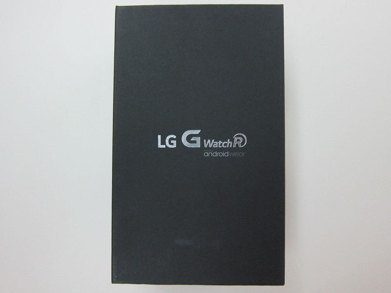 LG G Watch R - Box Front