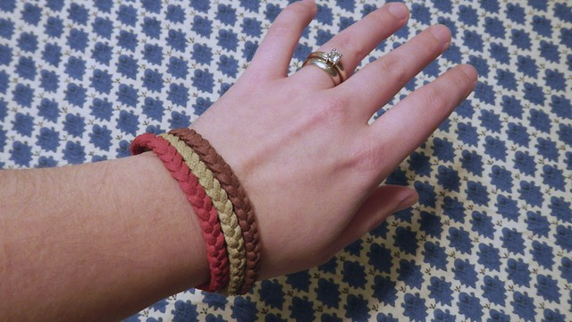 Braided Suede Bracelet 9