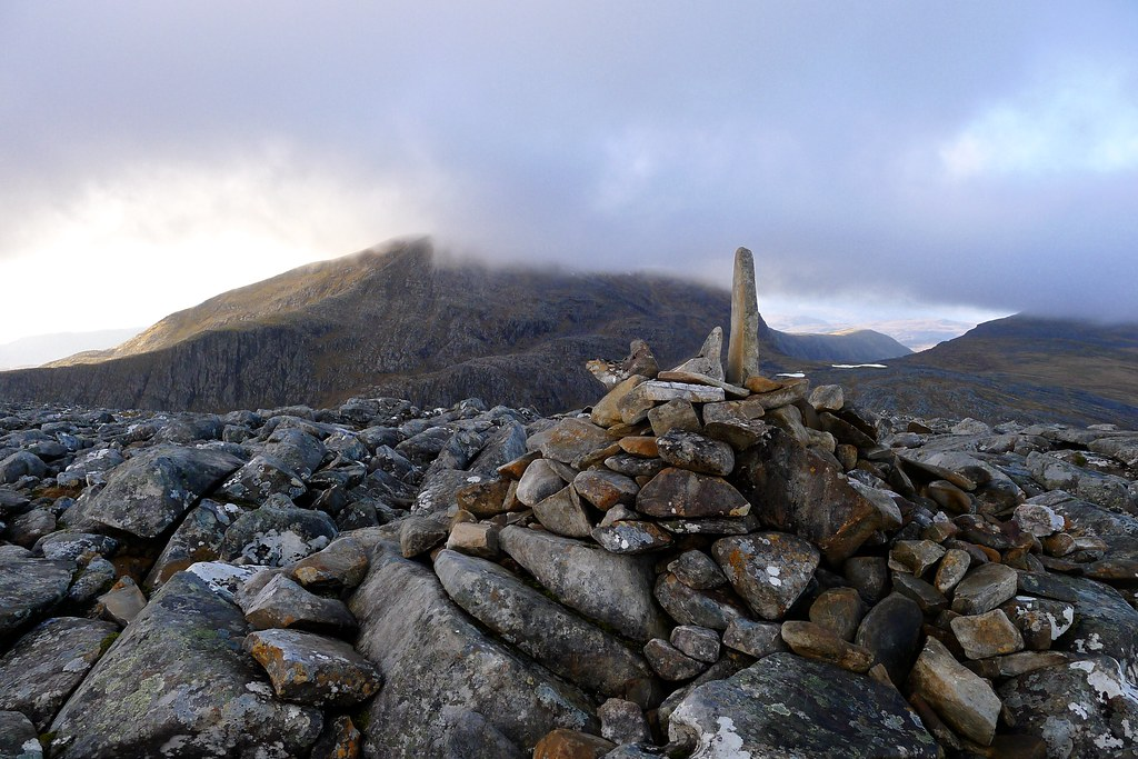 Summit of Cona Mheall