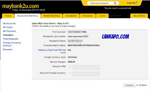 M2U Visa Direct 2