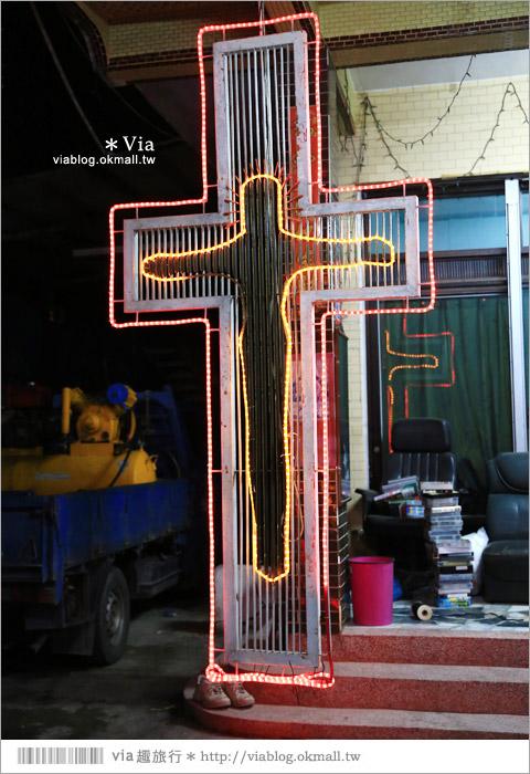 【萬金教堂】屏東萬金教堂聖誕季~3D光雕秀+耶誕地景藝術/全台最濃耶味小鎮!52